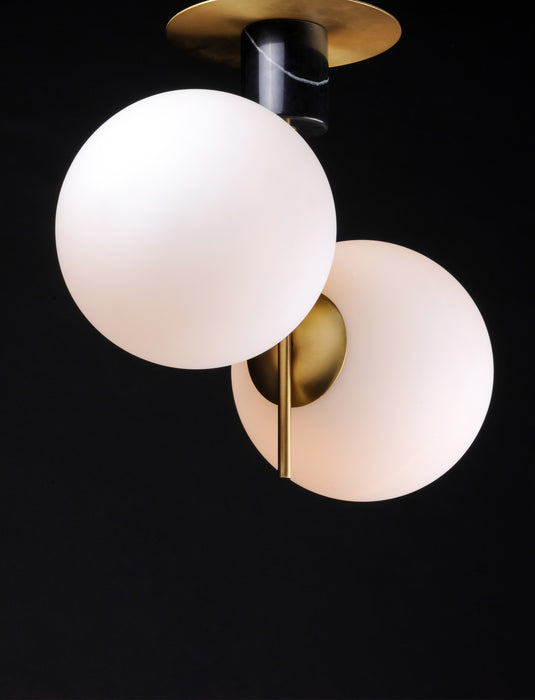 Vesper 2-Light Semi-Flush