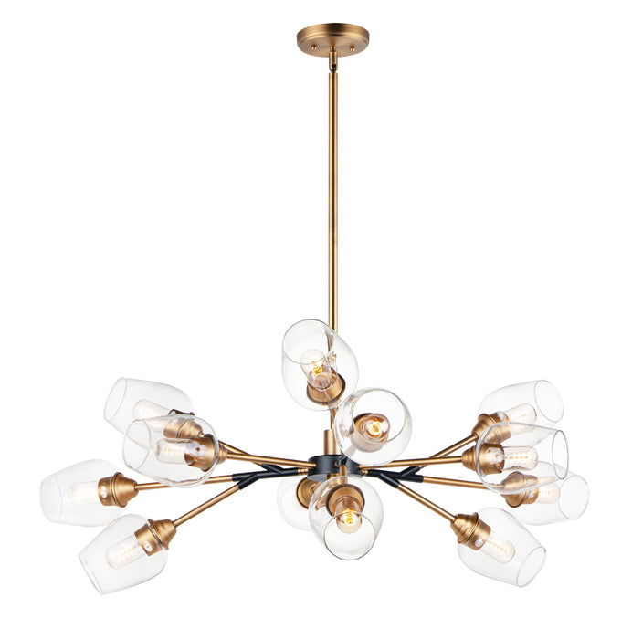 Savvy 12-Light Chandelier