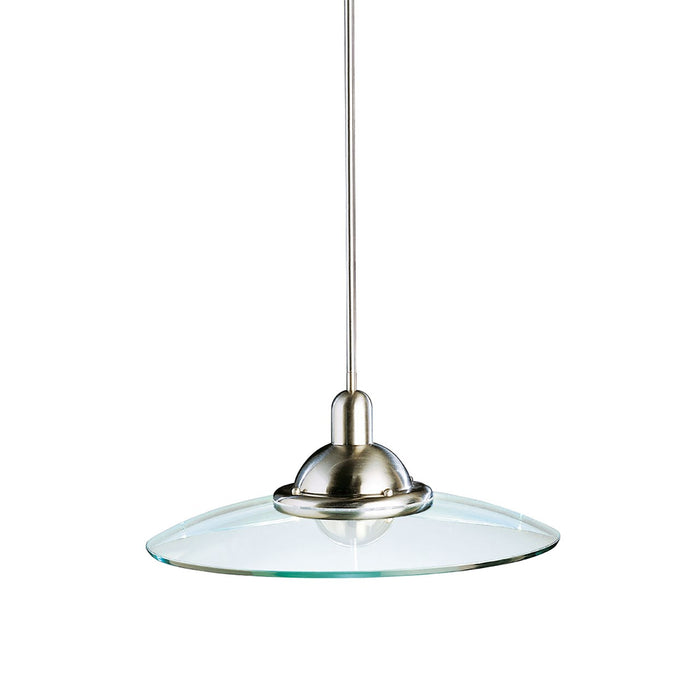Galaxie 22.5in. 1 Light Mini Pendant Brushed Nickel
