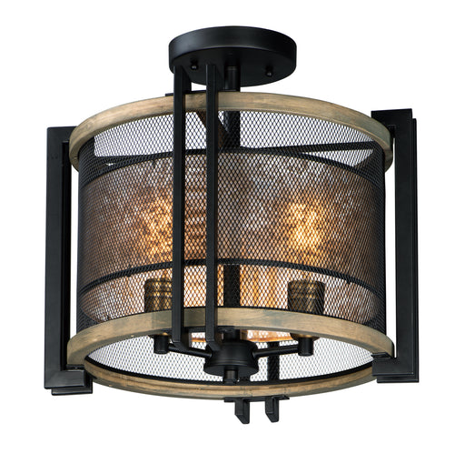 Boundry 3-Light Flush Mount
