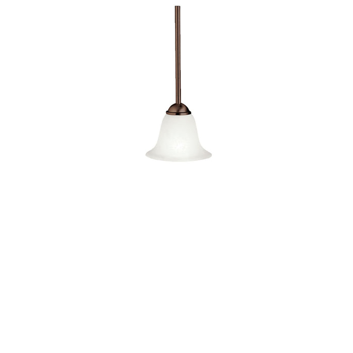 Dover 6.5in. 1 Light Mini Pendant Brushed Nickel