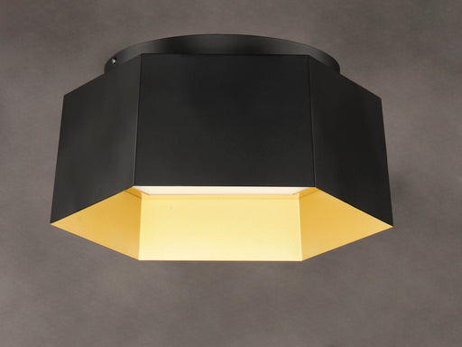 Honeycomb 1-Light LED Flush Mount