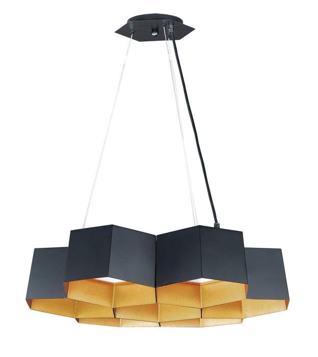 Honeycomb 7-Light LED Chandelier
