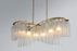 Victoria 6-Light Linear Chandelier