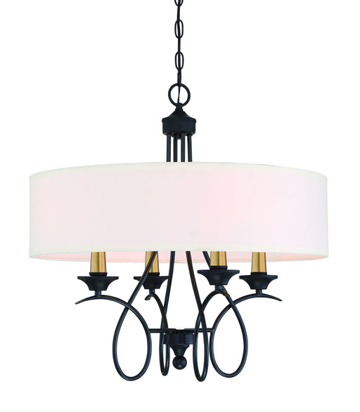 La Courbe - 4 Light Pendant