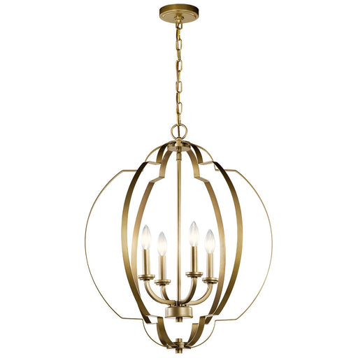 Voleta 4 Light Large Foyer Pendant