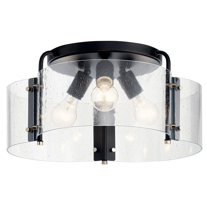 Thoreau 3 Light Semi Flush