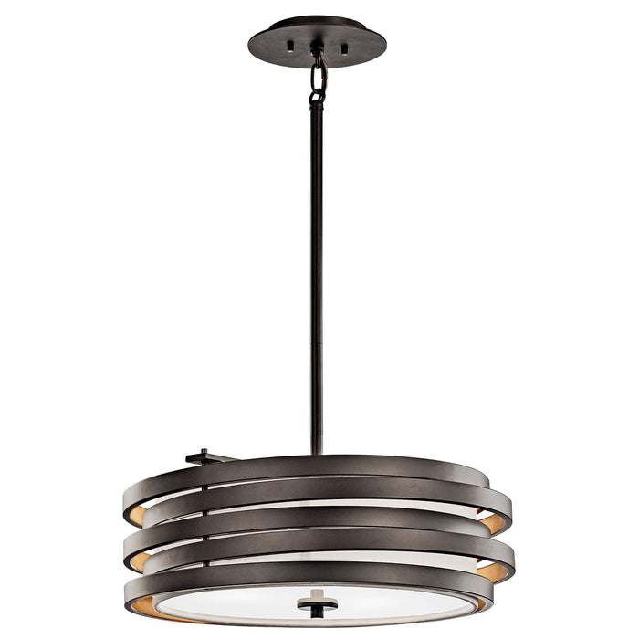 Roswell(TM) 3 Light Pendant Brushed Nickel
