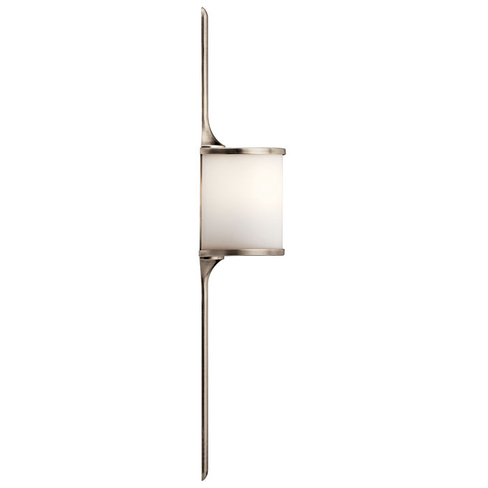 Mona 2 Light Halogen Wall Sconce Classic Pewter