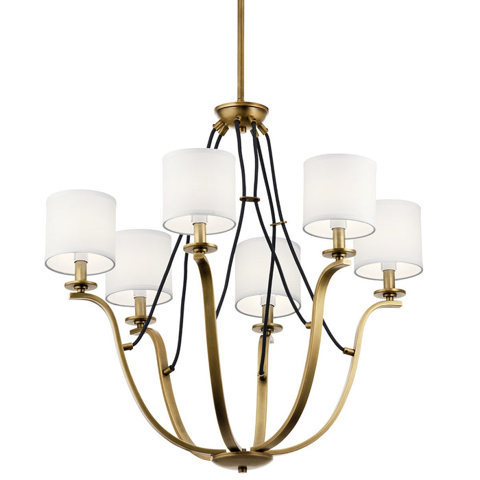 Thisbe 27.5in. 6 Light Chandelier