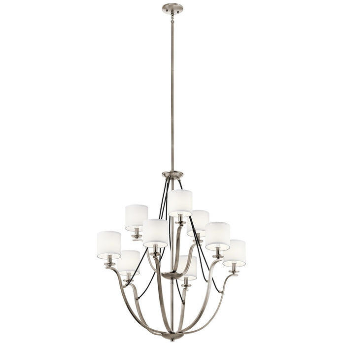 Thisbe 33in. 9 Light 2 Tier Chandelier