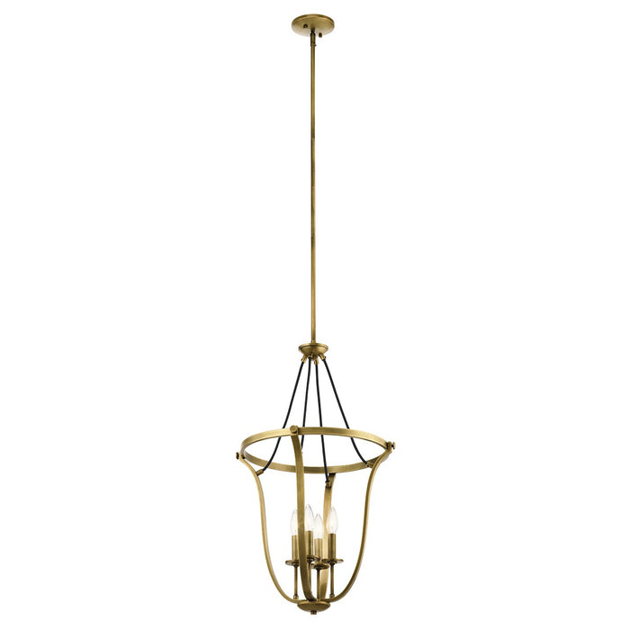 Thisbe 29.25in. 4 Light Foyer Pendant
