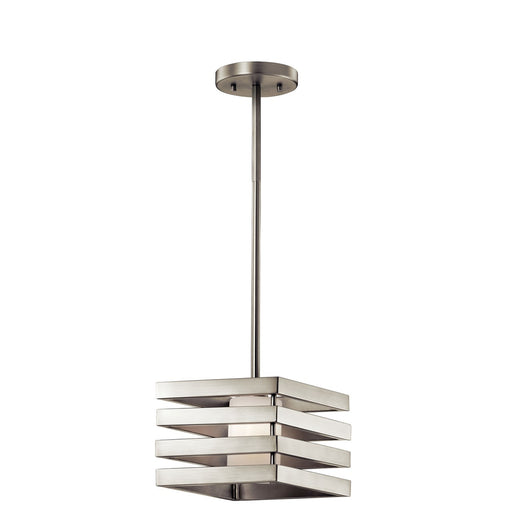Realta(TM) 1 Light Mini Pendant Brushed Nickel