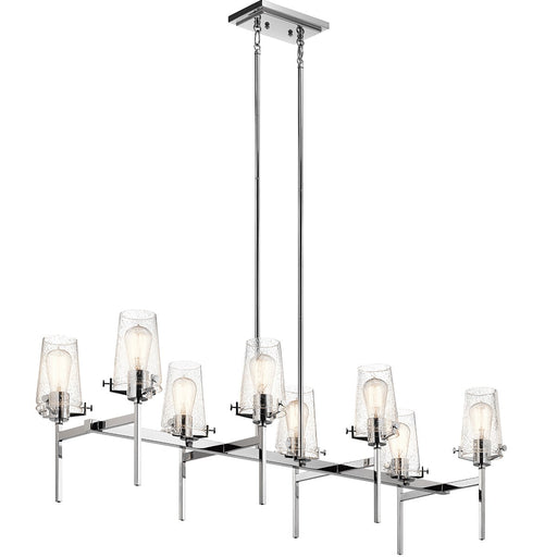 Alton 46in. 8 Light Linear Chandelier