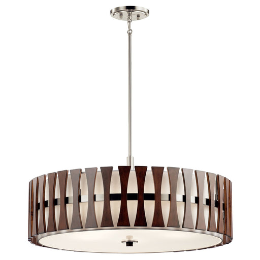 Cirus(TM) 5 Light Convertible Pendant Auburn Stain