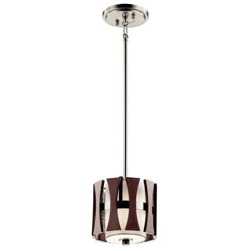 Cirus(TM) 1 Light Mini Pendant Auburn Stain