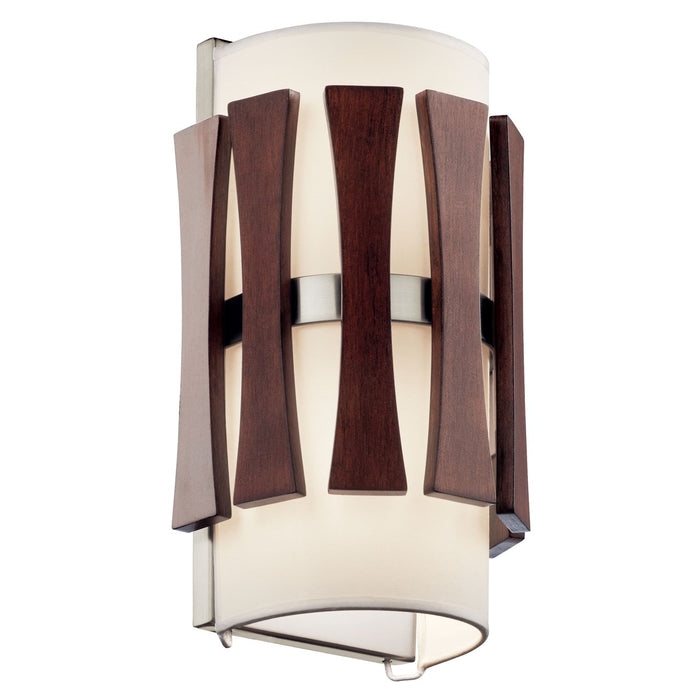 Cirus(TM) 2 Light Wall Sconce Auburn Stain