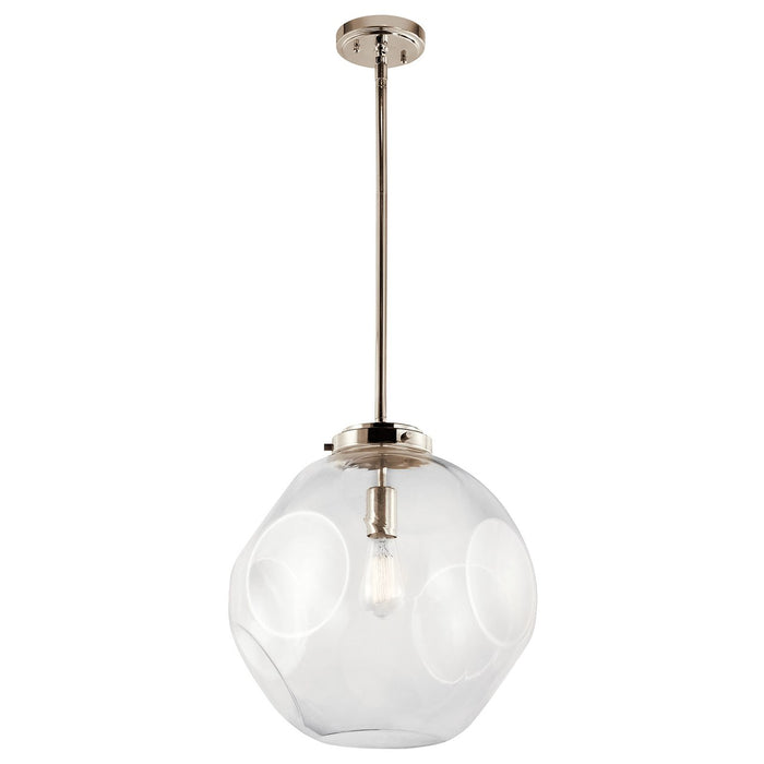 Ellis 1 Light Pendant Polished Nickel(TM)