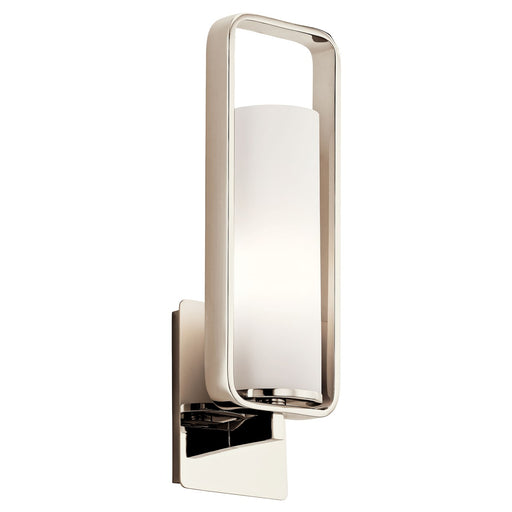 City Loft(TM) 1 Wall Sconce Polished Nickel(TM)