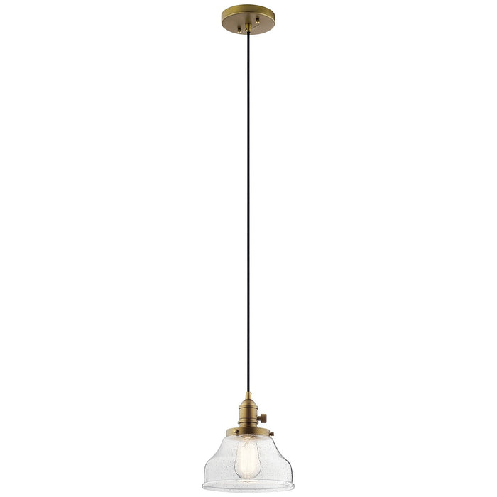 Avery(TM) 1 Light Bell Mini Pendant