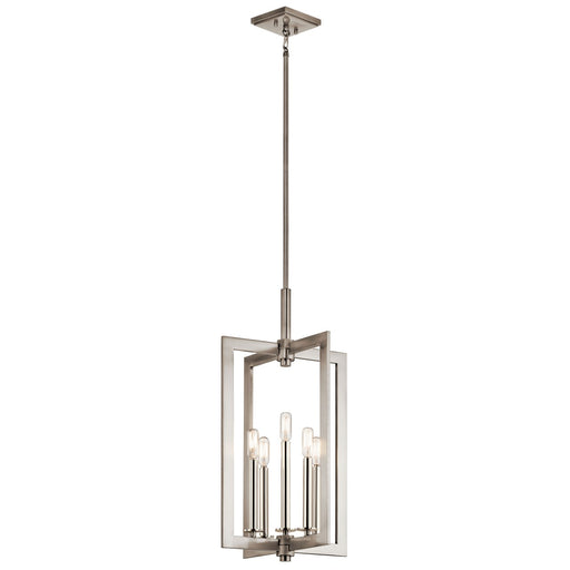Cullen(TM) 14in. 5 Light Foyer Pendant Classic Pewter