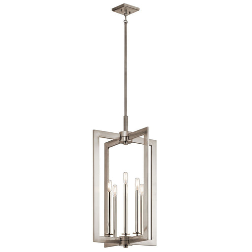 Cullen(TM) 18in. 5 Light Foyer Pendant Classic Pewter