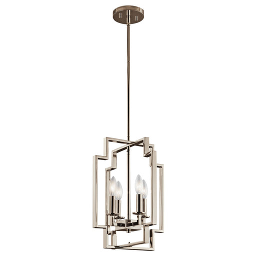 Downtown Deco(TM) 4 Light Foyer Pendant PN
