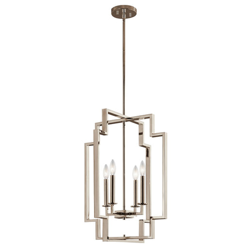 Downtown Deco(TM) Large 4 Light Foyer Pendant PN