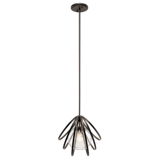 Kerti(TM) 13.25in. 1 Light Pendant Olde Bronze(R)