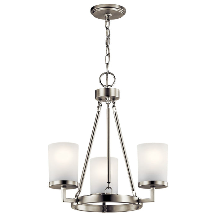 Daimlen(TM) 3 Light Pendant Brushed Nickel