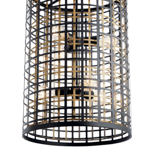 Aldergate(TM) 6 Light Foyer Pendant Black