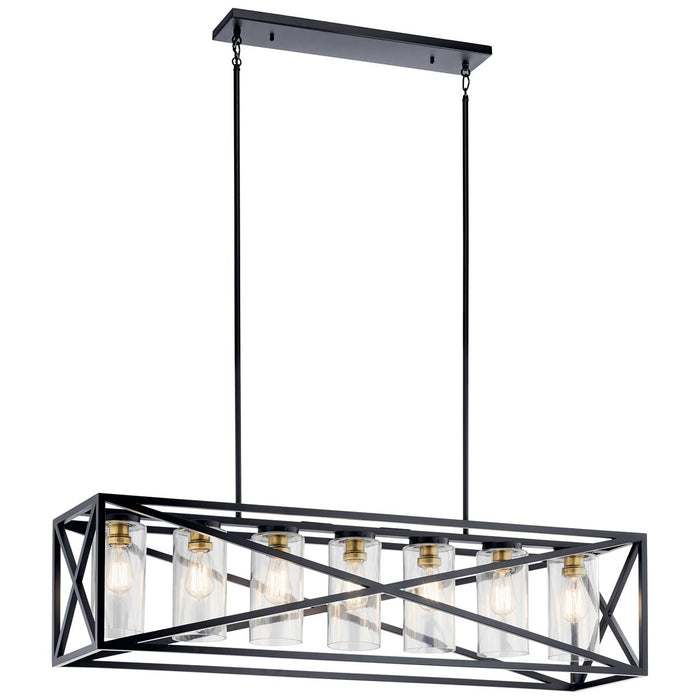 Moorgate(TM) 7 Light Linear Chandelier