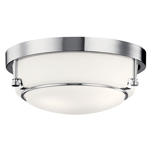 Belmont(TM) Flush Mount 2 Light Chrome