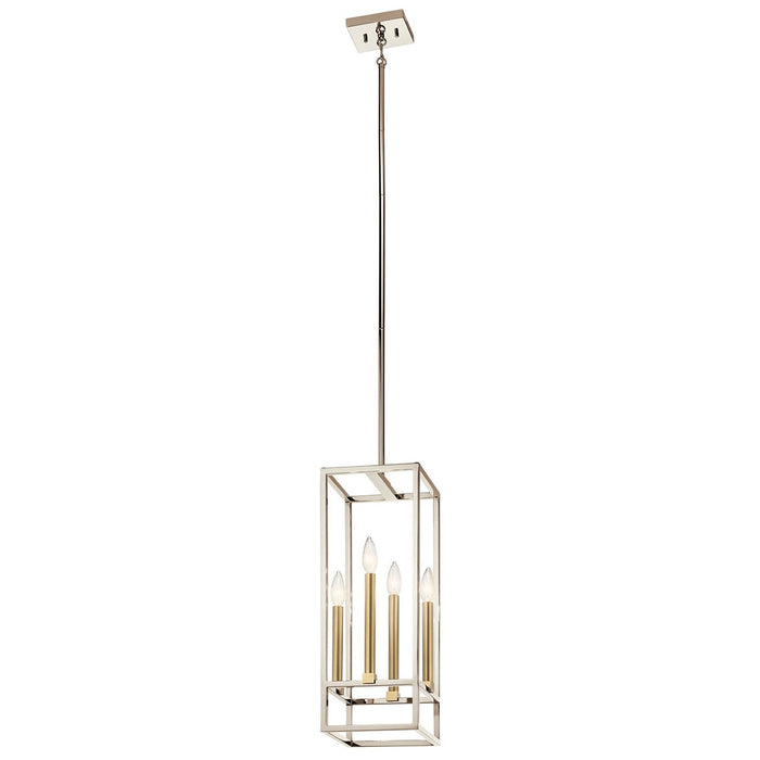 Finet(TM) 4 Light Foyer Pendant Polished Nickel(TM)