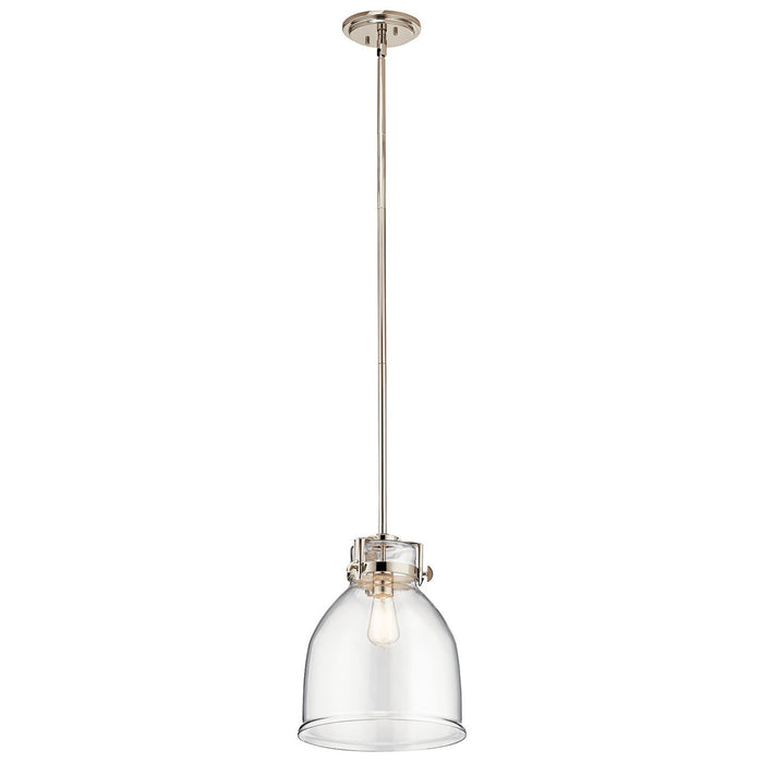 Briar 1 Light Pendant Polished Nickel(TM)