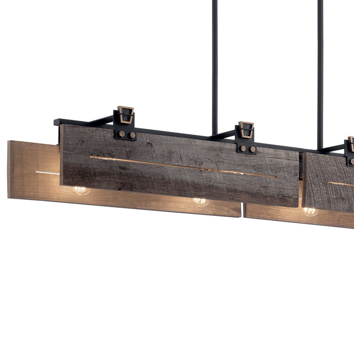 Ridgewood 8 Light Linear Chandelier