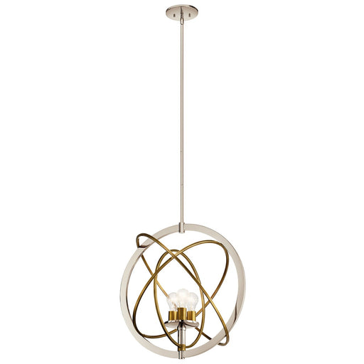 Ibis 3 Light Medium Pendant Polished Nickel(TM)