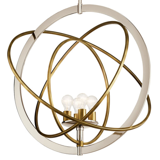 Ibis 4 Light Large Pendant Polished Nickel(TM)