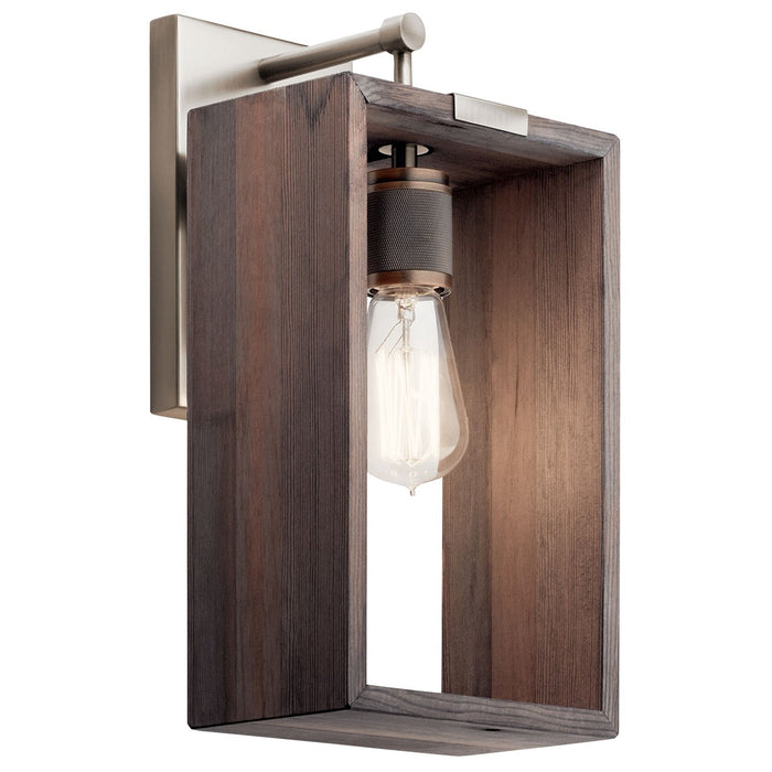 Industrial Frames(TM) 1 Light Wall Sconce Classic Pewter
