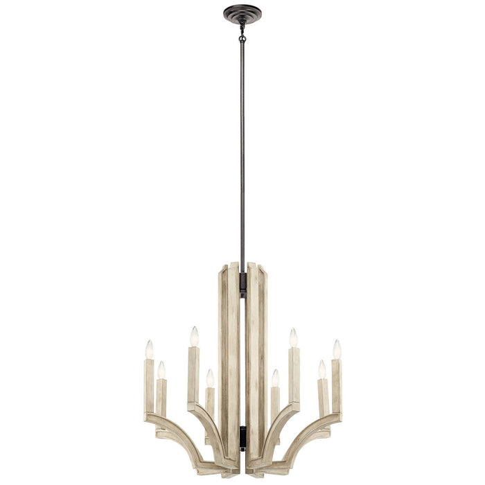 Botanica 8 Light Chandelier Anvil Iron(TM)