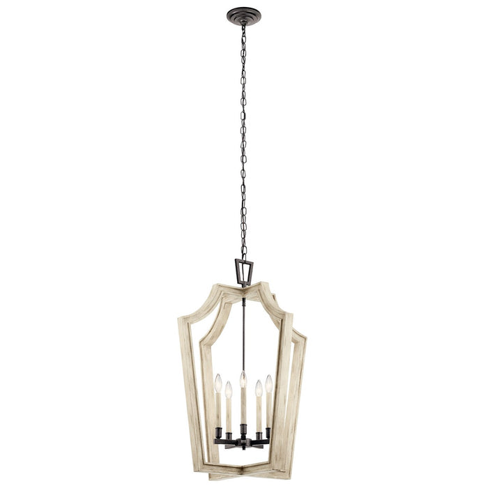 Botanica 5 Light Chandelier Anvil Iron(TM)