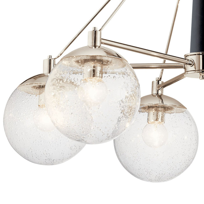 Marilyn 6 Light Chandelier Polished Nickel(TM)
