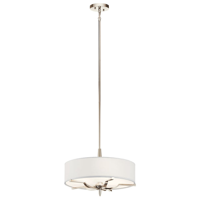 Kinsey(TM) 3 Light Convertible Pendant Polished Nickel(TM)
