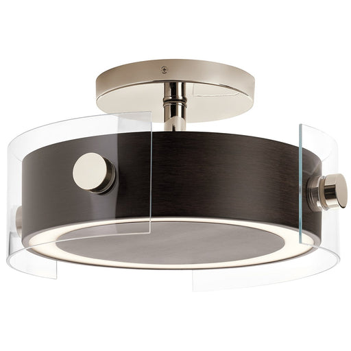 Tig 15.25in. LED 1 Light Semi Flush
