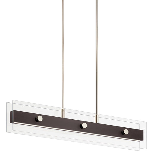 Tig 43.5in. LED 6 Light Linear Chandelier