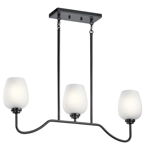 Valserrano 31in. 3 Light Linear Chandelier