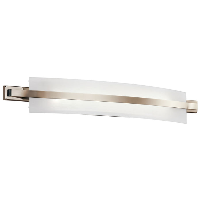 Freeport(TM) 36in. LED Linear Vanity Light Polished Nickle