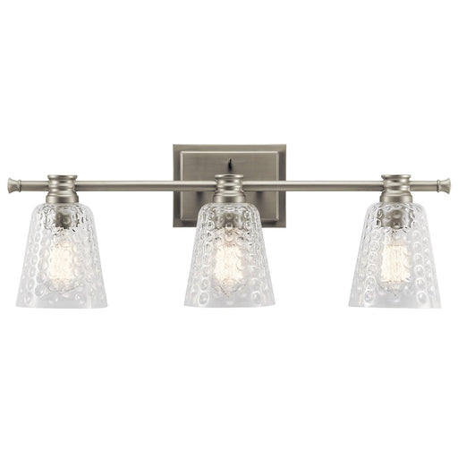 Nadine 3 Light Vanity Light Brushed Nickel