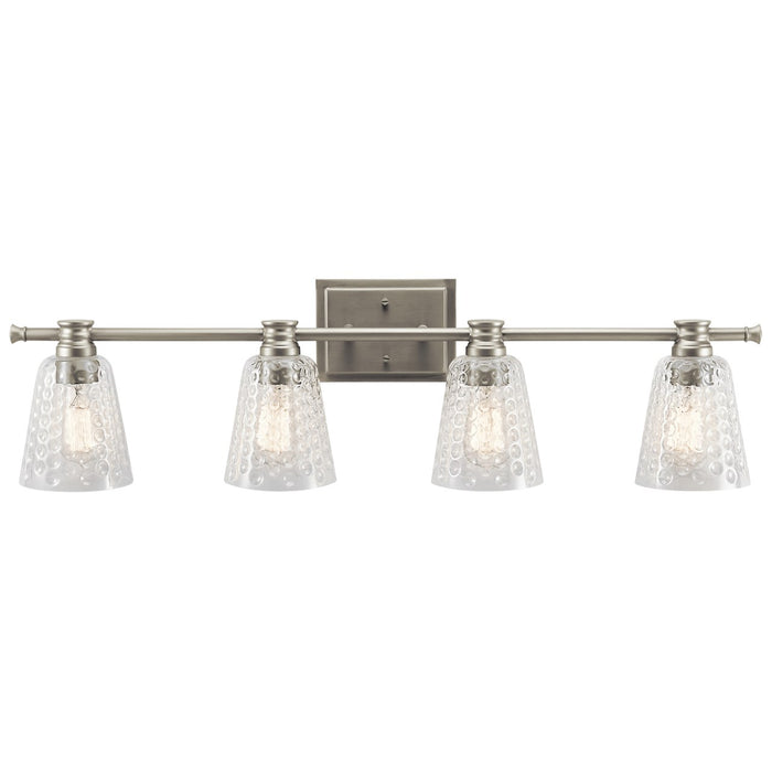 Nadine 4 Light Vanity Light Brushed Nickel