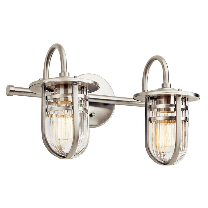 Caparros(TM) 2 Light Vanity Light Brushed Nickel